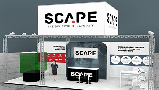 Scape present new visual identity at Motek